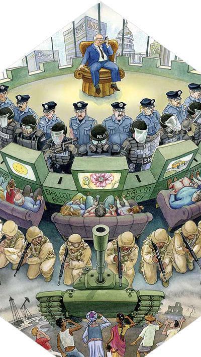(USA TODAY) Armut strafbar?  Konzentrationslager (FEMA-Camps) & Waffen braucht das Land New-capitalist-pyramid